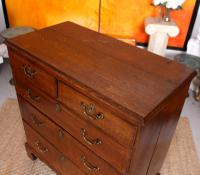 18th Century Oak Chest of Drawers George III (6 of 12)