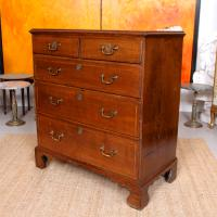 18th Century Oak Chest of Drawers George III (7 of 12)