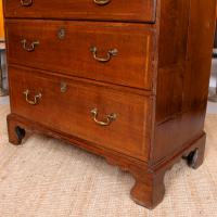 18th Century Oak Chest of Drawers George III (9 of 12)