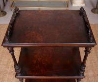 Etagere 19th Century Portable Walnut Whatnot (4 of 10)