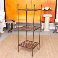 French Wrought Iron Etagere Whatnot Shelving Stand (2 of 11)