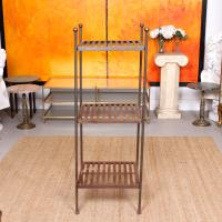 French Wrought Iron Etagere Whatnot Shelving Stand (3 of 11)