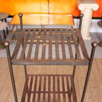 French Wrought Iron Etagere Whatnot Shelving Stand (4 of 11)