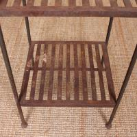 French Wrought Iron Etagere Whatnot Shelving Stand (6 of 11)