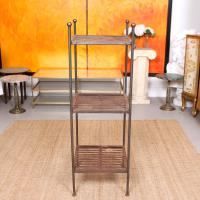 French Wrought Iron Etagere Whatnot Shelving Stand (7 of 11)