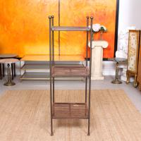 French Wrought Iron Etagere Whatnot Shelving Stand (8 of 11)