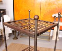 French Wrought Iron Etagere Whatnot Shelving Stand (9 of 11)