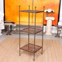 French Wrought Iron Etagere Whatnot Shelving Stand (11 of 11)
