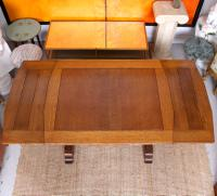 Oak Dining Table & 6 Chairs c.1920 (13 of 19)