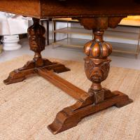 Oak Dining Table & 6 Chairs c.1920 (19 of 19)