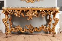 18th Century Italian Console Table From Tuscany
