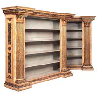 Pair of Neo Classical Style Bookcases c.1900