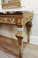 Late 18th Century North Italian Parcel-Gilt Console Table (4 of 4)
