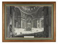 Giovanni Battista Piranesi Etching 'Santa Maria Maggiore', 3rd State c.1750 (5 of 5)