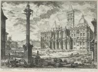 Giovanni Battista Piranesi Etching 'Santa Maria Maggiore', 3rd State c.1750