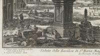 Giovanni Battista Piranesi Etching 'Santa Maria Maggiore', 3rd State c.1750 (4 of 5)