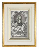 Group of 18th Century Portrait Etchings by Jacobus Houbraken (5 of 17)