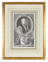 Group of 18th Century Portrait Etchings by Jacobus Houbraken (3 of 17)