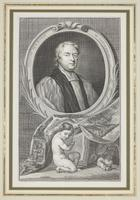 Group of 18th Century Portrait Etchings by Jacobus Houbraken (12 of 17)
