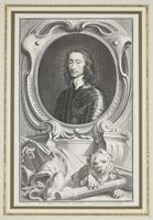 Group of 18th Century Portrait Etchings by Jacobus Houbraken (14 of 17)