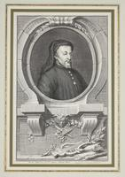 Group of 18th Century Portrait Etchings by Jacobus Houbraken (16 of 17)