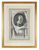 Group of 18th Century Portrait Etchings by Jacobus Houbraken (7 of 17)