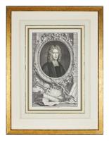 Group of 18th Century Portrait Etchings by Jacobus Houbraken (8 of 17)