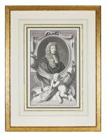 Group of 18th Century Portrait Etchings by Jacobus Houbraken (10 of 17)