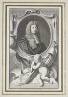 Group of 18th Century Portrait Etchings by Jacobus Houbraken (11 of 17)