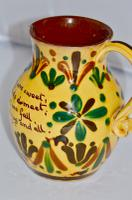 19th Century Aller Vale 'Kerswell Daisy' Pattern Jug (3 of 10)