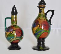 Two Beautiful Dutch Art Deco Gloss Plated Liqueur Jugs c.1920 (12 of 12)