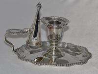 Late Victorian Silver Chamber Candlestick by Martin Hall & Co, Sheffield 1896 (15 of 15)