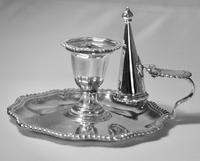 Late Victorian Silver Chamber Candlestick by Martin Hall & Co, Sheffield 1896 (2 of 15)