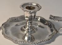 Late Victorian Silver Chamber Candlestick by Martin Hall & Co, Sheffield 1896 (4 of 15)