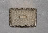 1837 Superb Vinaigrette & Made by Renowned Silversmith Nathan Mills, Birmingham (3 of 11)
