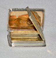 1837 Superb Vinaigrette & Made by Renowned Silversmith Nathan Mills, Birmingham (6 of 11)