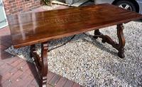 Walnut Spanish Table c.1900