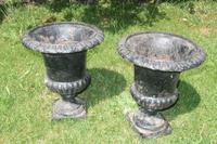 Pair of 19th Century Caste Iron Jardinieres (2 of 3)