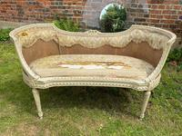 Small French Sofa in Original Paint (2 of 6)