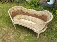 Small French Sofa in Original Paint (4 of 6)