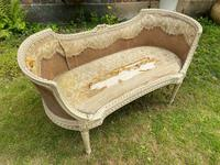 Small French Sofa in Original Paint (3 of 6)