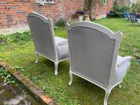 Pair of Large Upholstered French Armchairs (9 of 9)