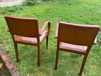 Pair of Leather Bridge Chairs (5 of 6)
