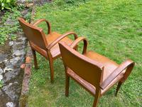 Pair of Leather Bridge Chairs (6 of 6)