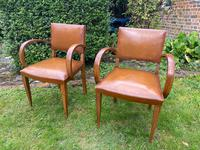 Pair of Leather Bridge Chairs (2 of 6)