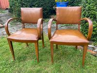 Pair of Leather Bridge Chairs (3 of 6)