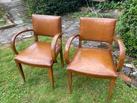 Pair of Leather Bridge Chairs (4 of 6)