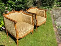 Pair of Carved Walnut Armchairs (8 of 9)