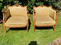 Pair of Carved Walnut Armchairs (3 of 9)