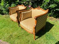 Pair of Carved Walnut Armchairs (7 of 9)